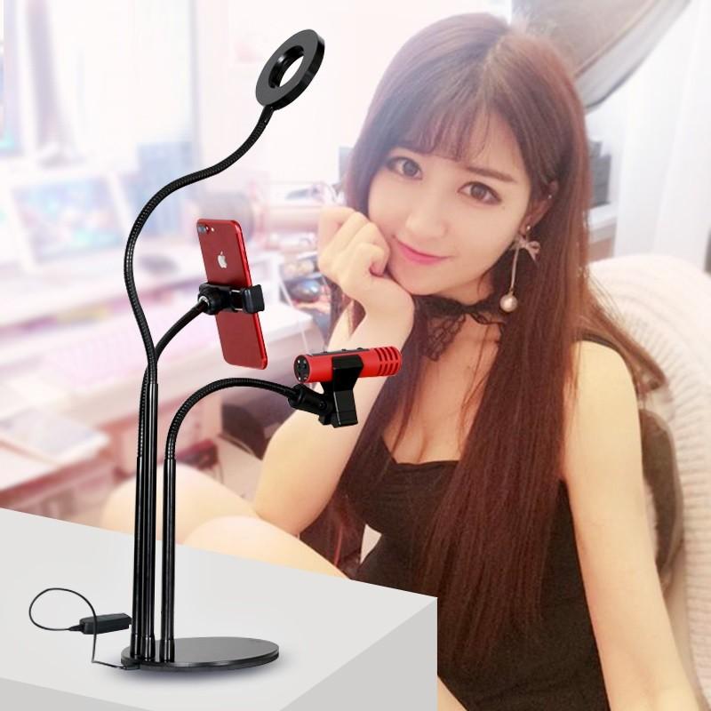 Kết quả hình ảnh cho giá đở livestream có đèn